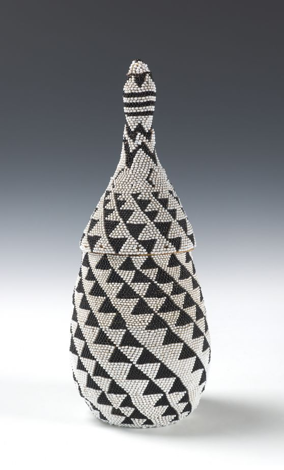 Tutsi Beaded basket