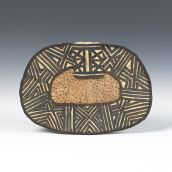 Mangbetu Negbe Fiber ornament from DR Congo